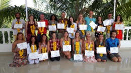 Ashtanga Yoga certification