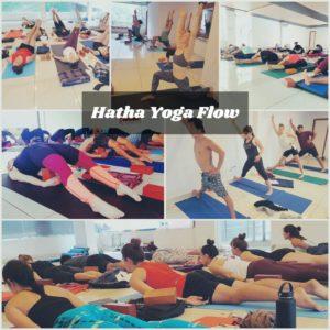 Hatha yoga flow