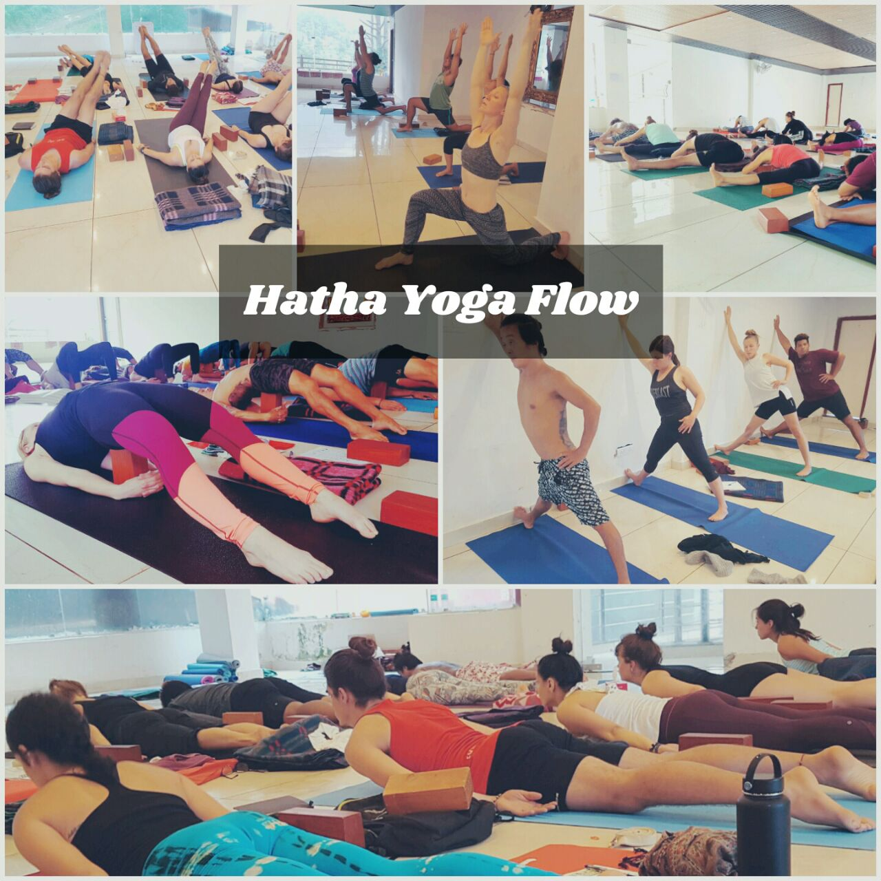 Hatha yoga flow