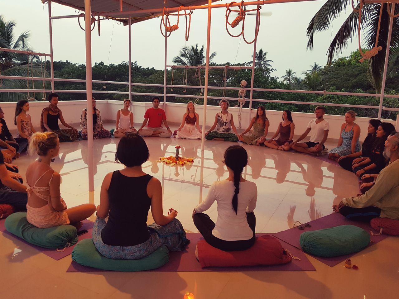 Yoga course in Goa