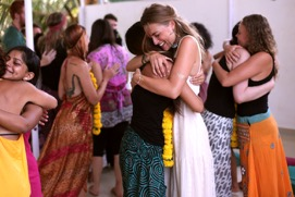 Happy Yoga Students Goa