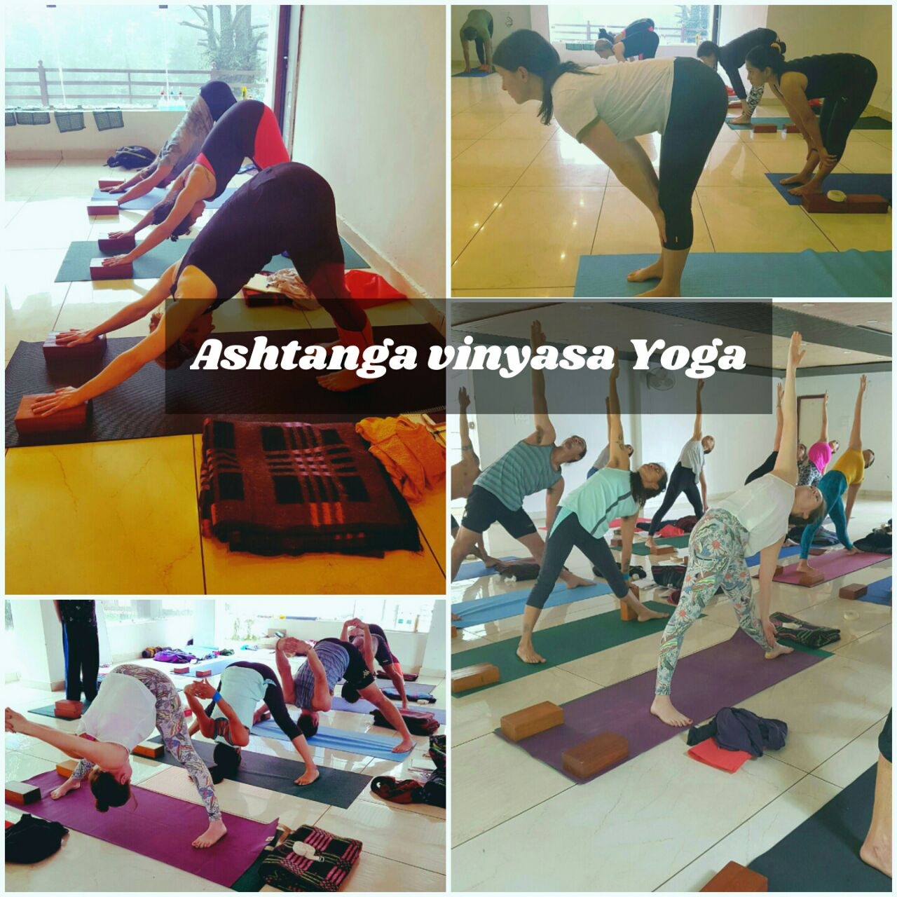 Ashtanga Vinyasa Yoga training