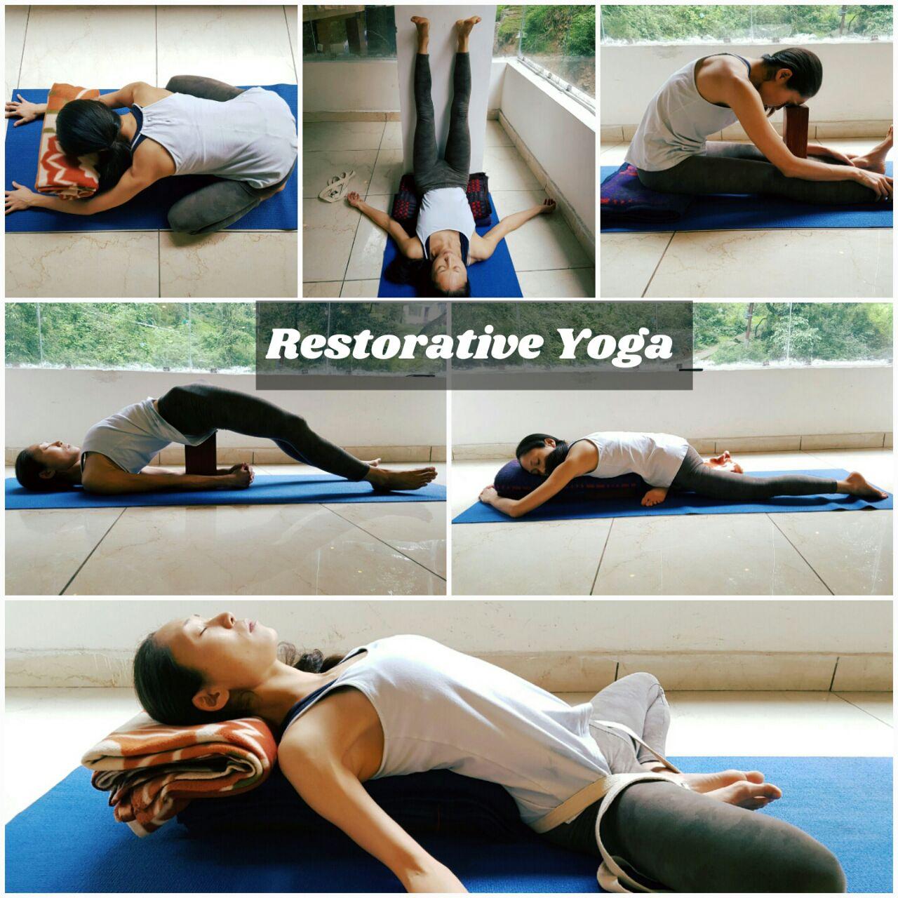 Restorative Yoga - Asanyoga