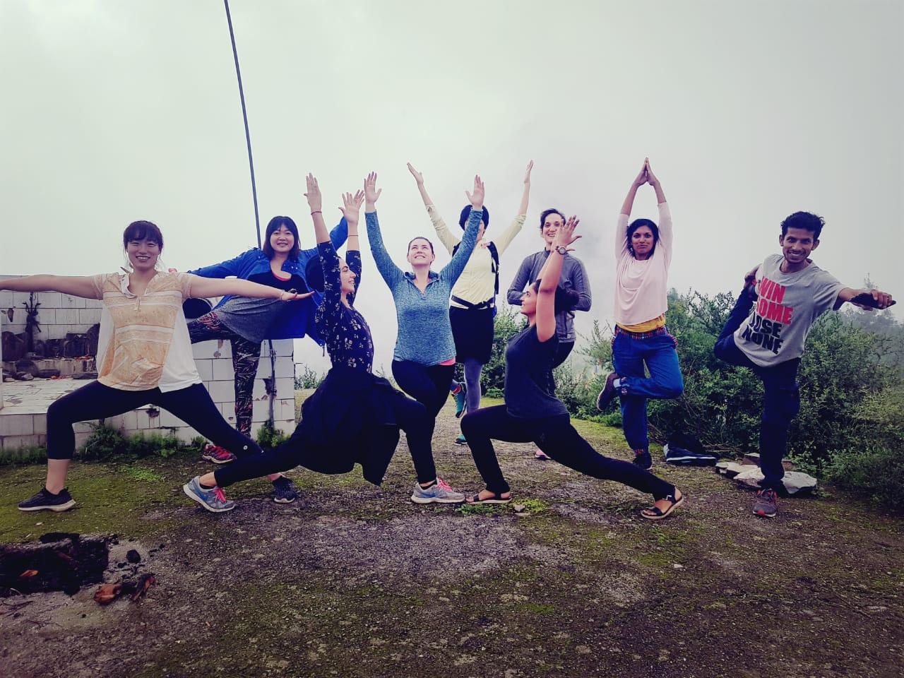 Happy Yoga souls